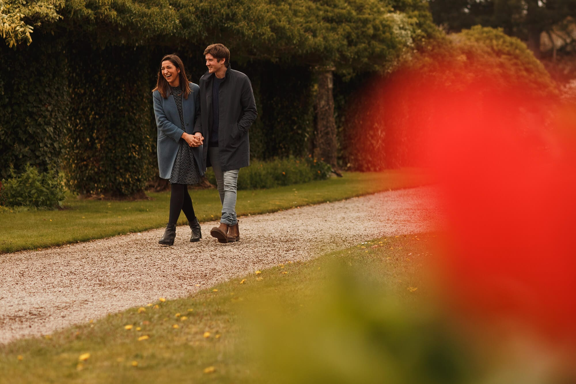 garden grounds at Thornton manor