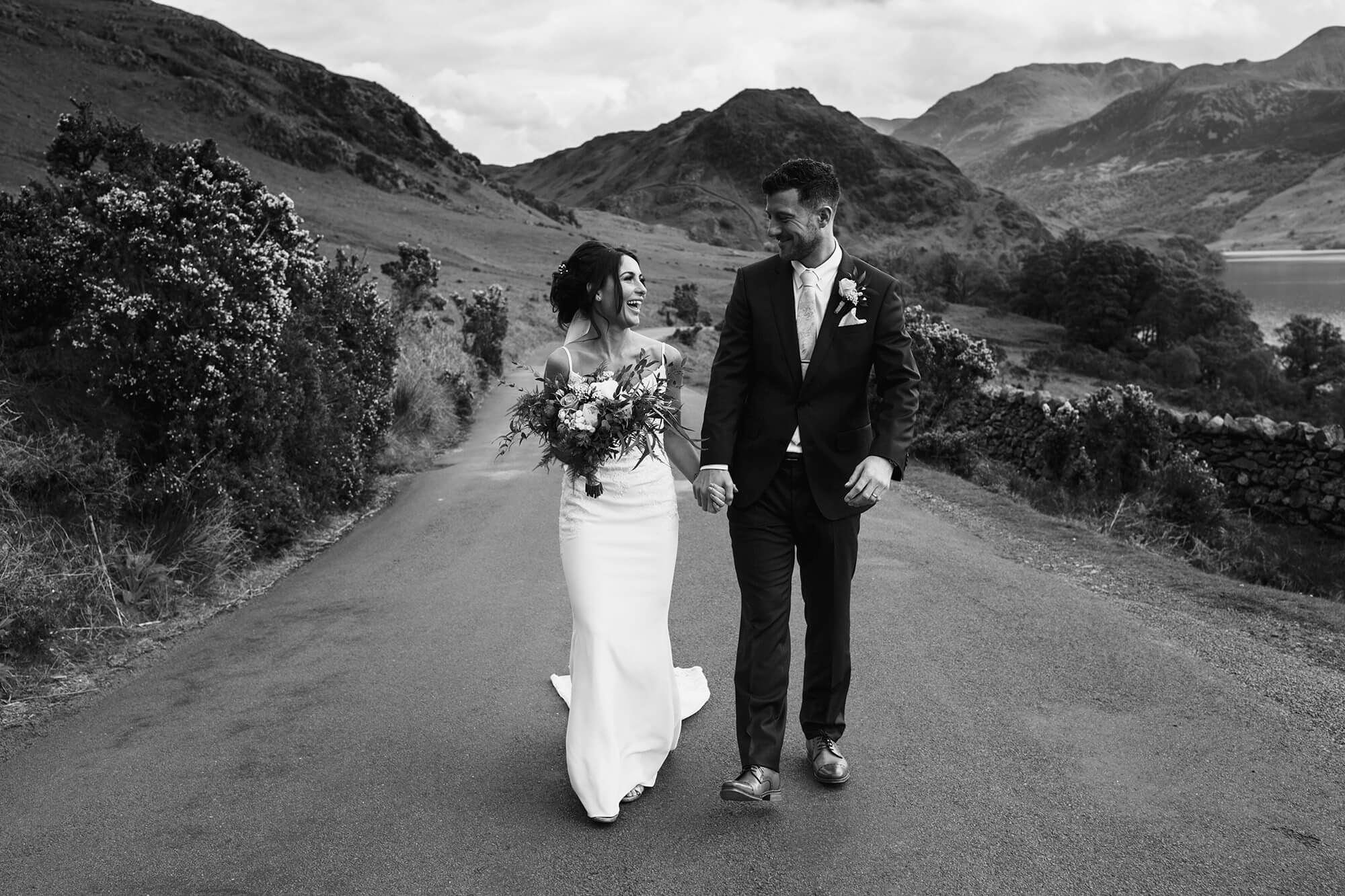 Bride and Groom Lake District