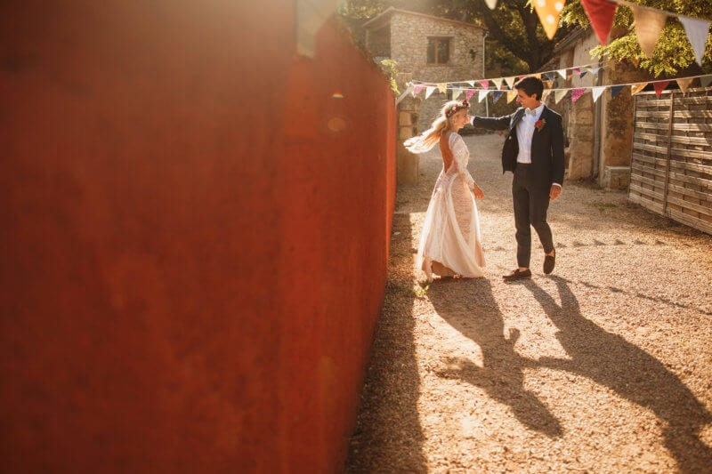 South of France wedding photography