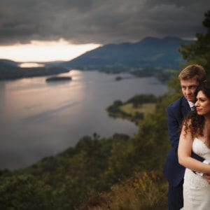 Outdoor wedding venues in the lake district