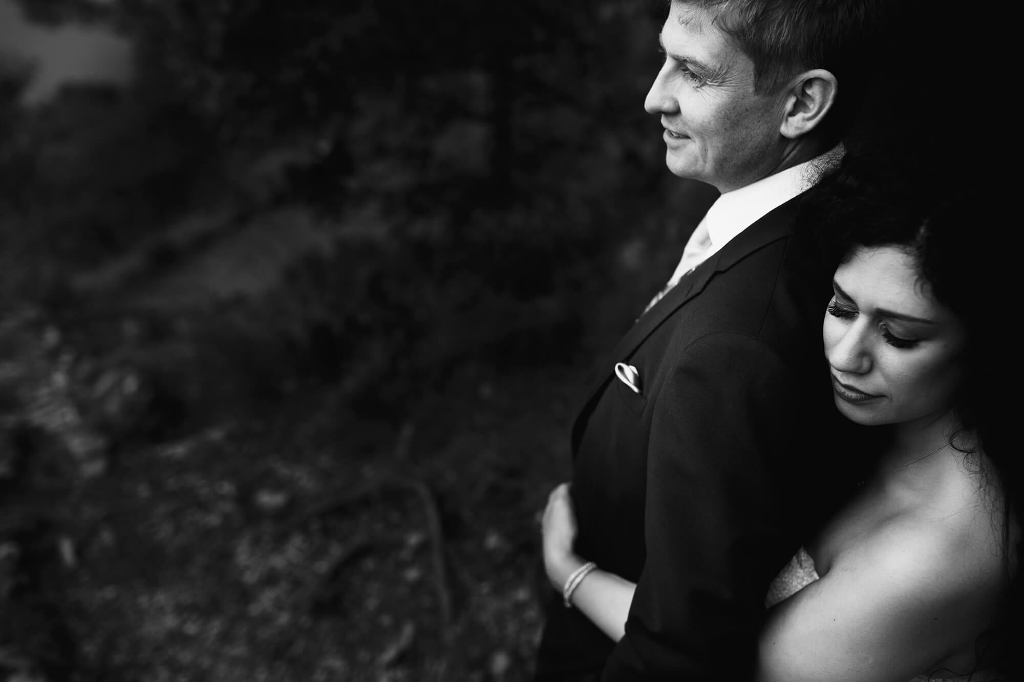 Lodore Falls Wedding Photo
