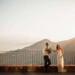 Sicily wedding photo