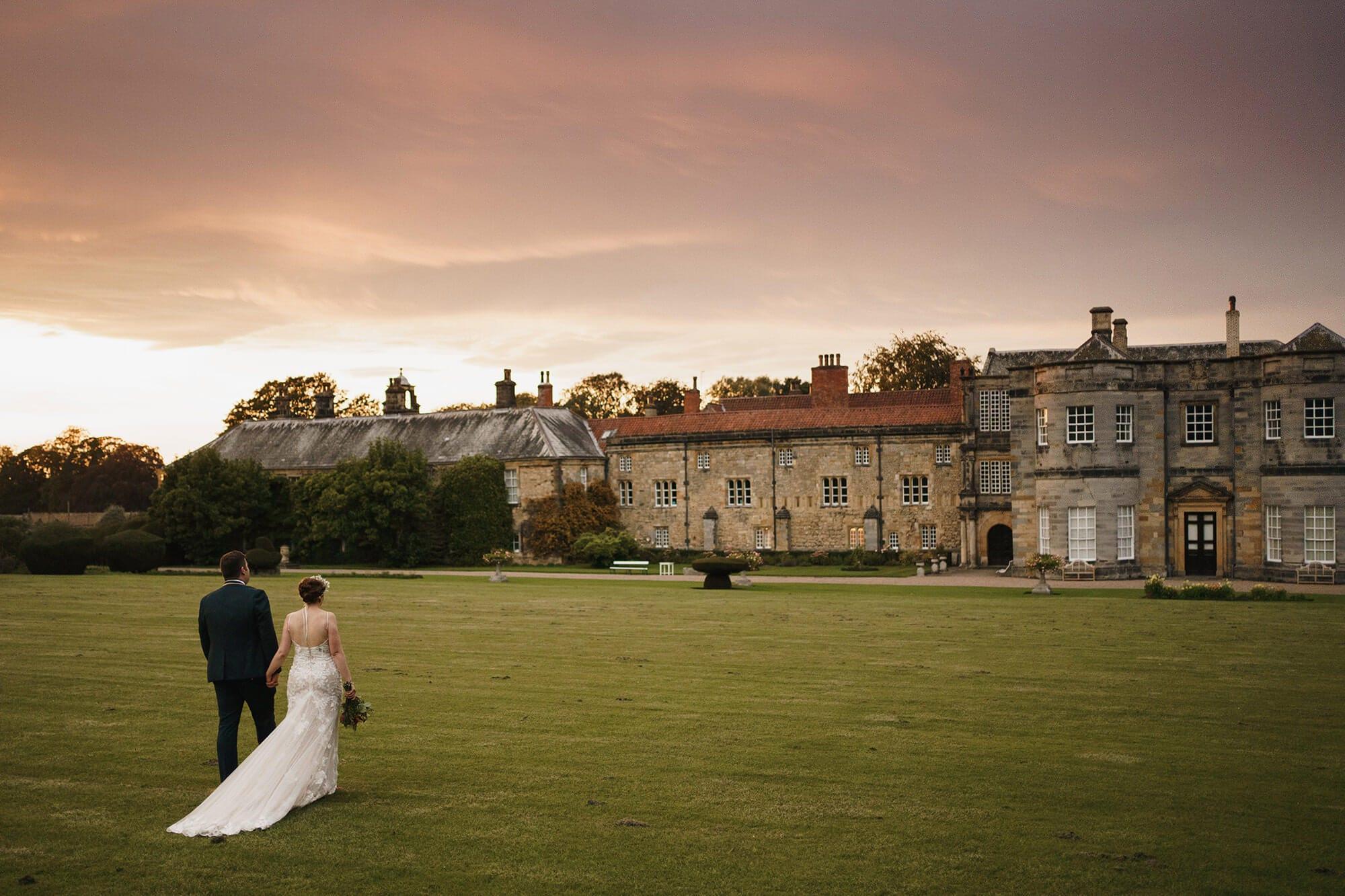Newburgh Priory At Sunset