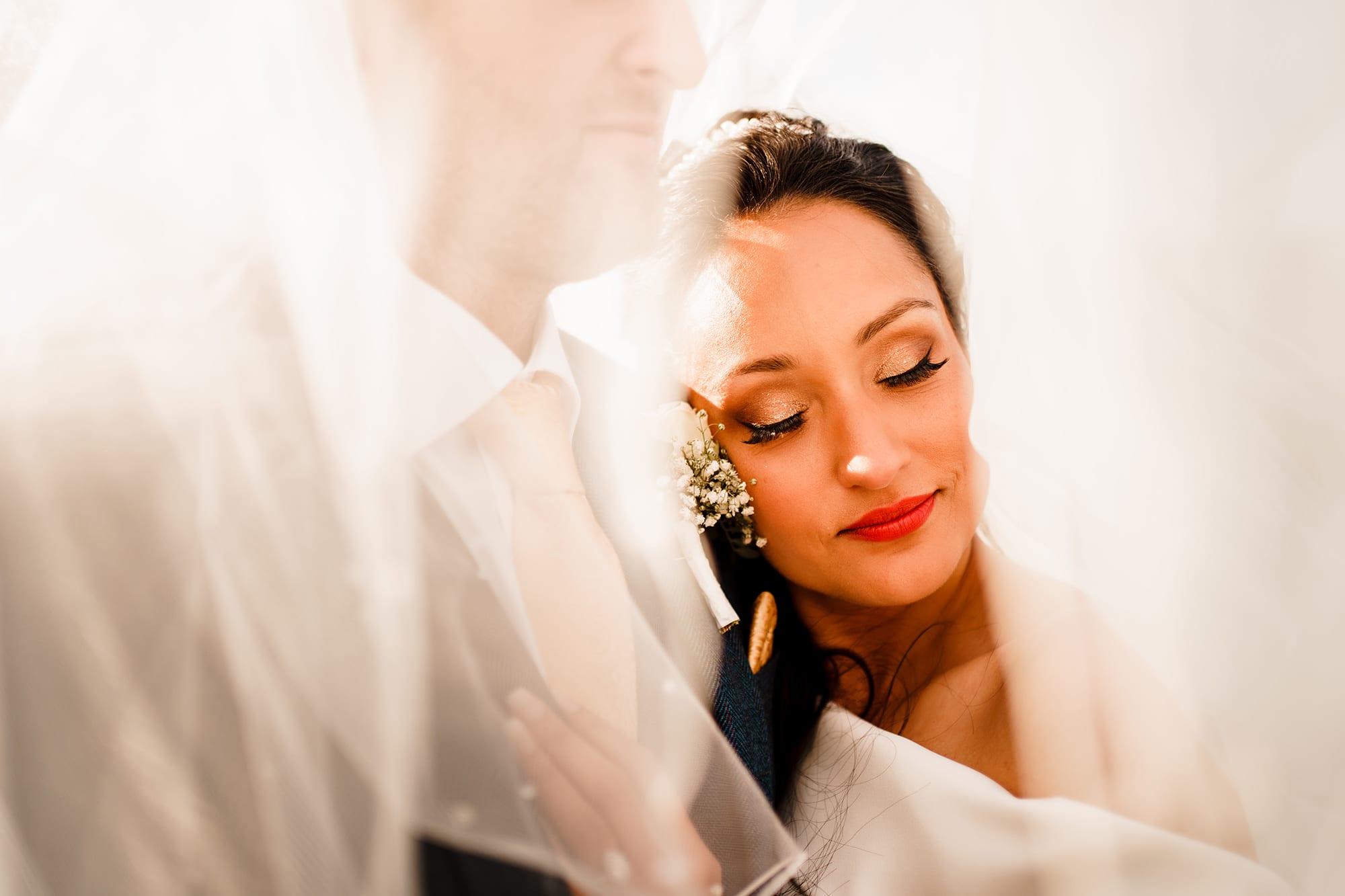 Bride at Hawkstone Hall